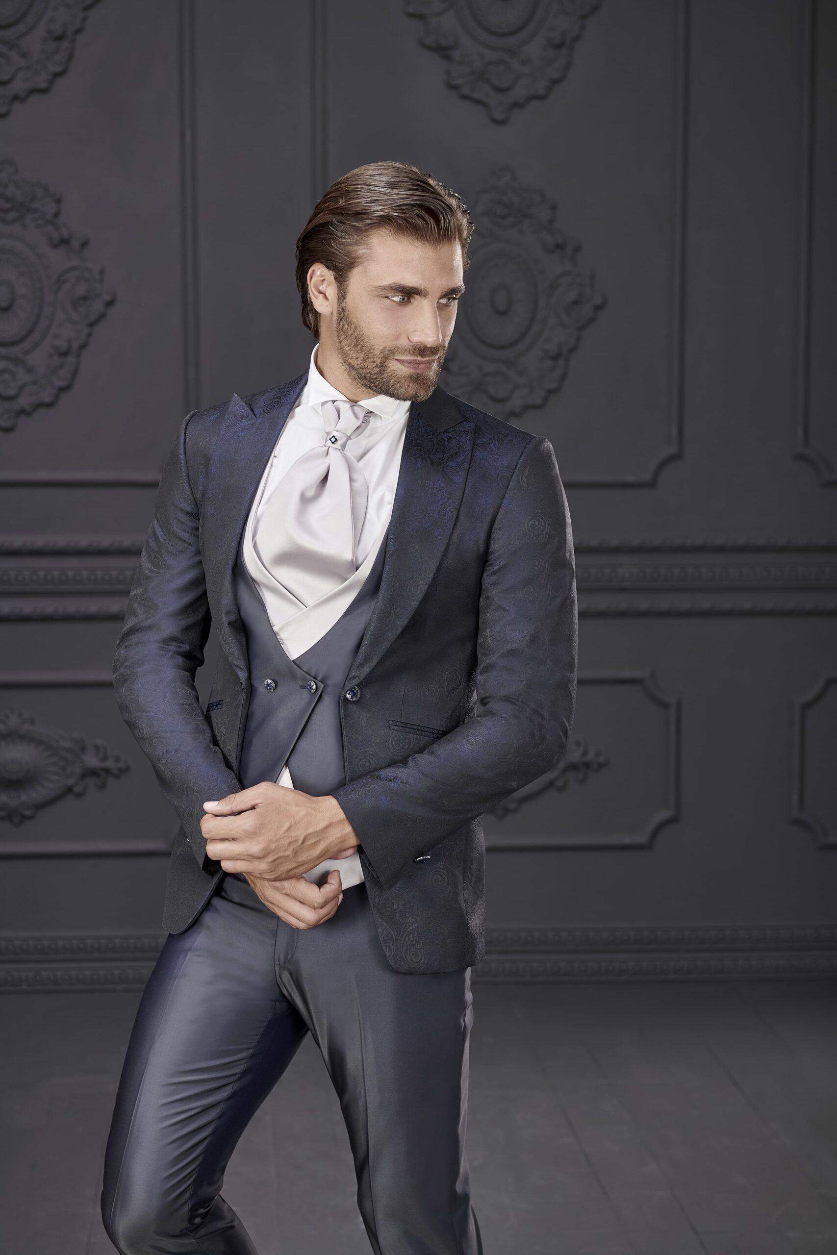 abito liscio lungo con bottoni laterali rocchini