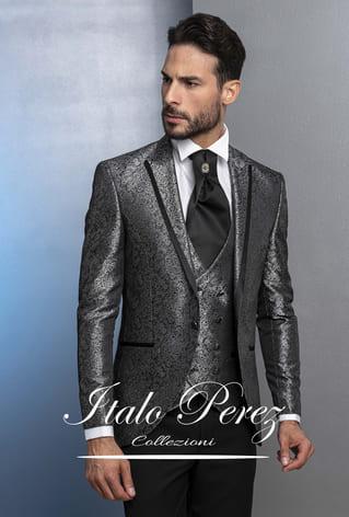 abito grigio italo perez