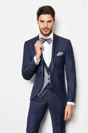 abito da sposo smoking blu