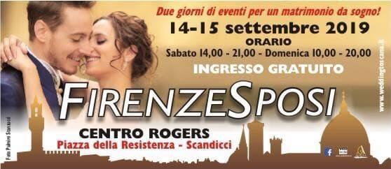 Firenze Sposi 2019: inizia la stagione