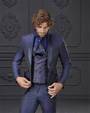 abito da sposo giuseppe rocchini damascato